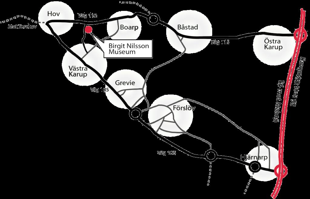 Birgit Nilsson karta