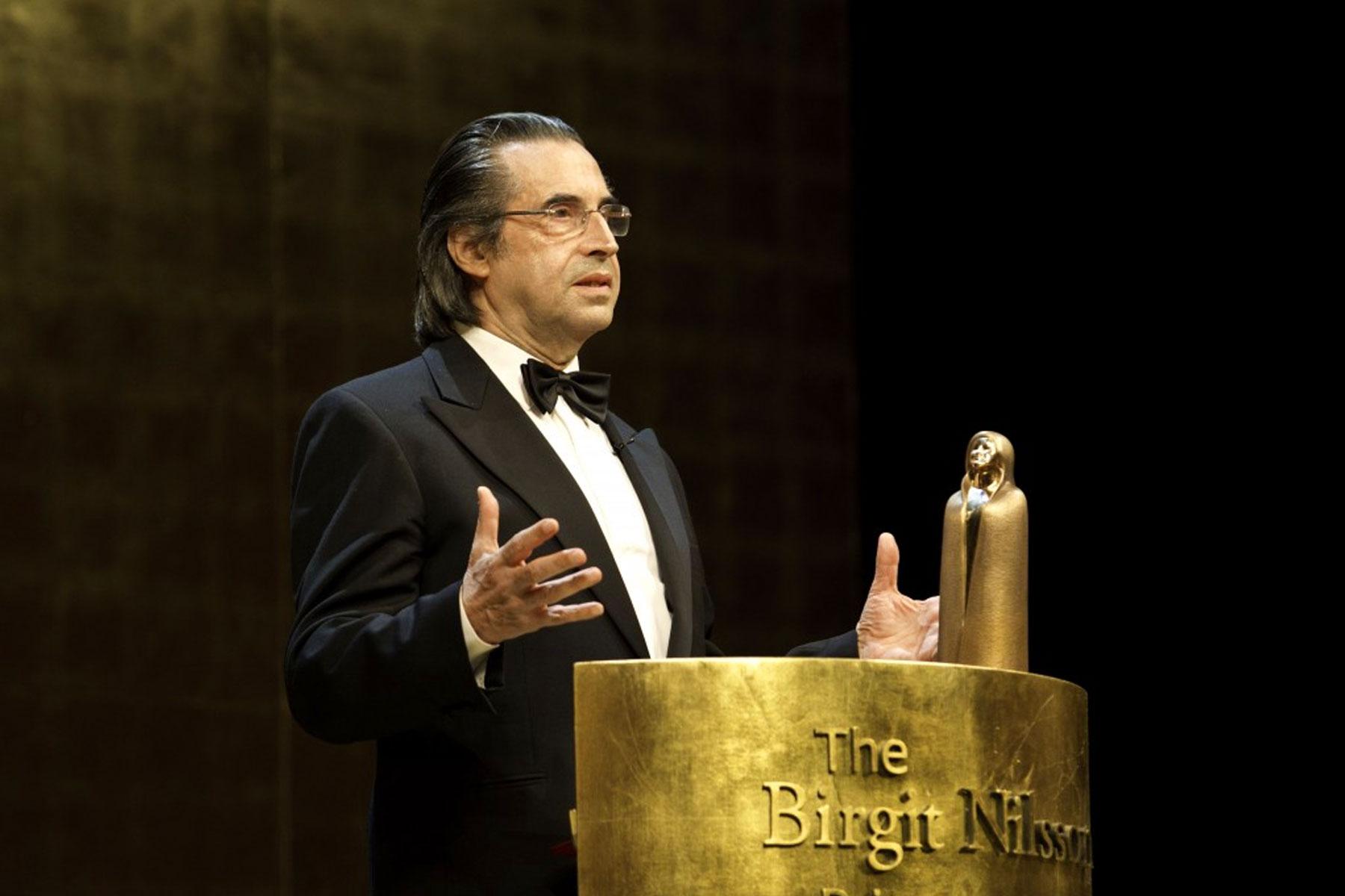 Read more about the article Recipient 2011: Riccardo Muti