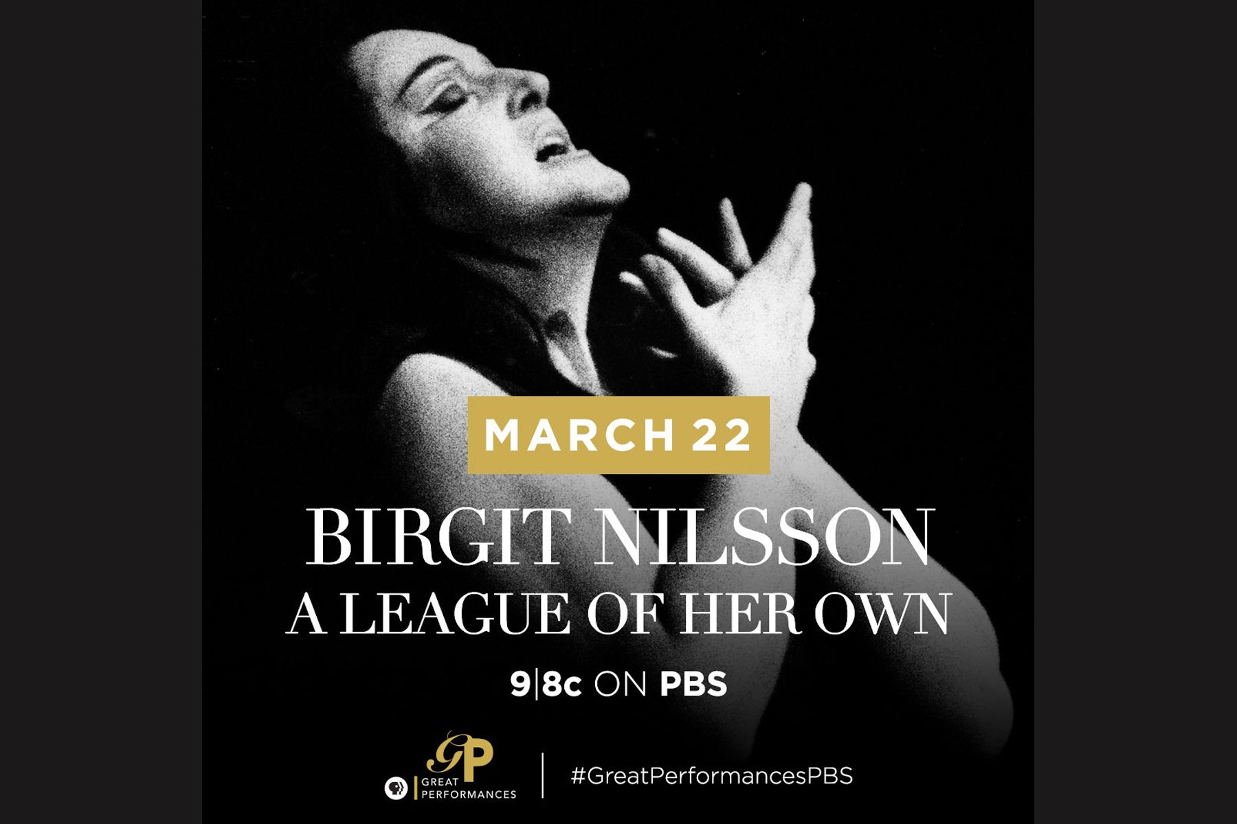 The Great Performance team at WNET broadcast the Birgit Nilsson documentary: A League of Her Own