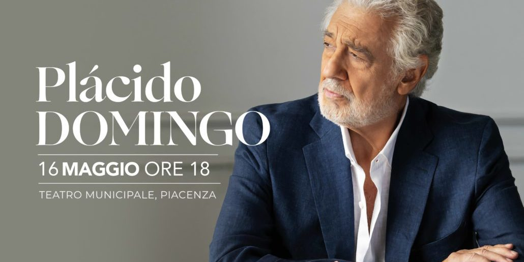 Plácido Domingo returns to Piacenza for a special performance dedicated to victims of COVID-19